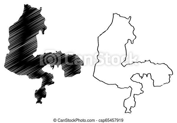 Kebbi State map - csp65457919