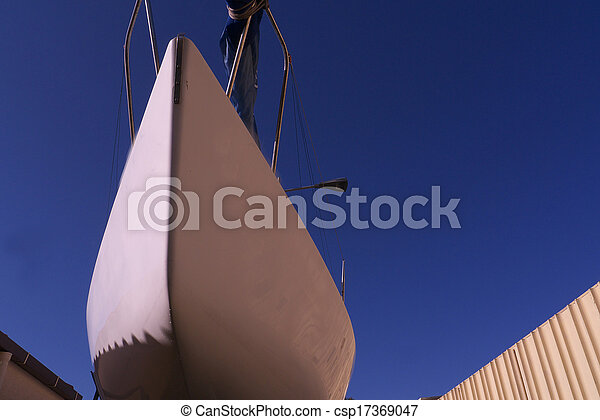 keel of a boat - csp17369047