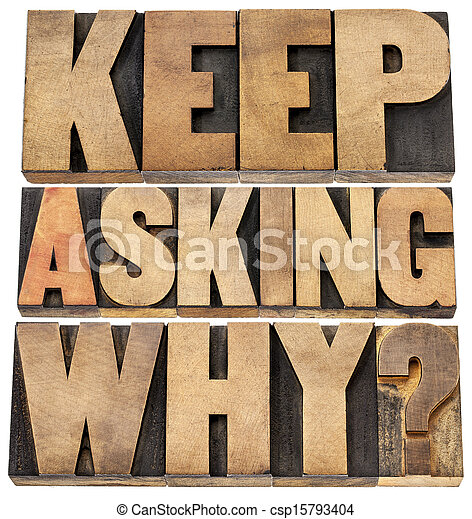 keep asking why - csp15793404