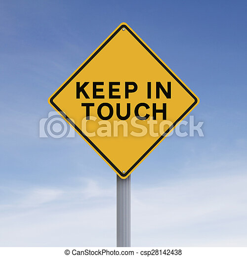 Keep In Touch  - csp28142438