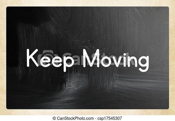 keep moving - csp17545307