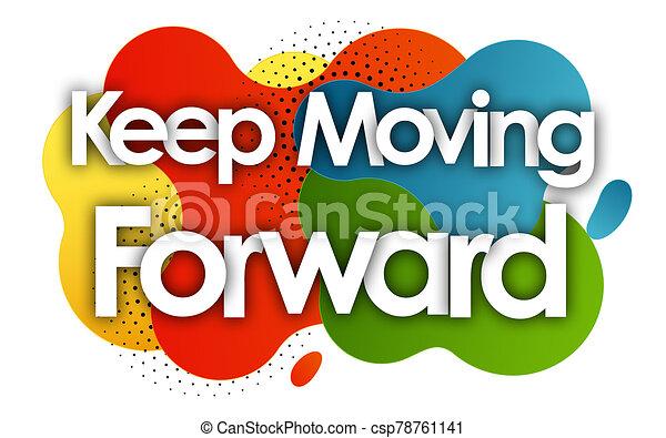 Clip Art Moving Forward