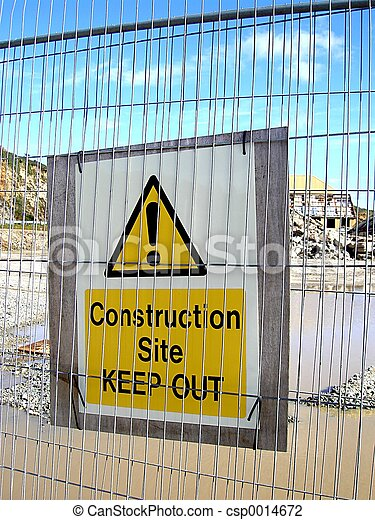 Keep Out Sign - csp0014672