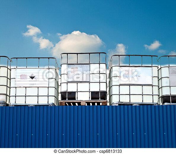 kemisk, behållare - csp6813133