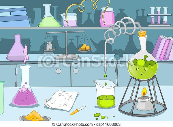 kemisk, laboratorium - csp11603083