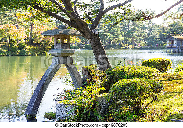 Kenrokuen garden in kanazawa stock photography - Search Pictures and ...