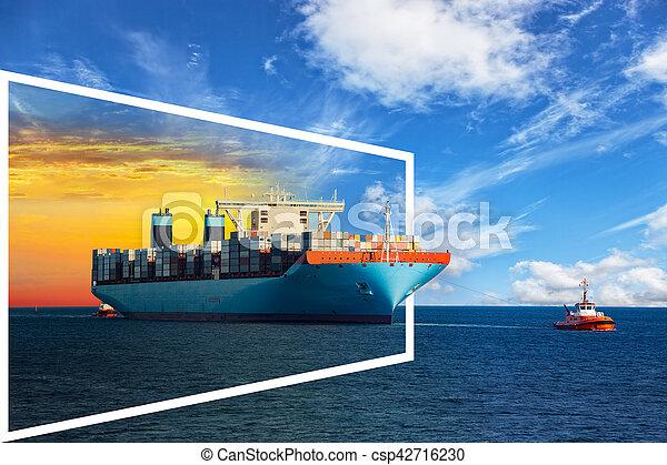 keret, hajó - csp42716230