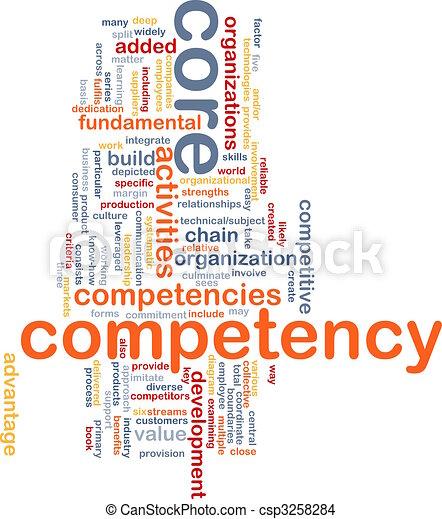 kern, woord, wolk, competency - csp3258284