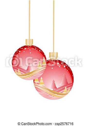 kerst baubles - csp2576716