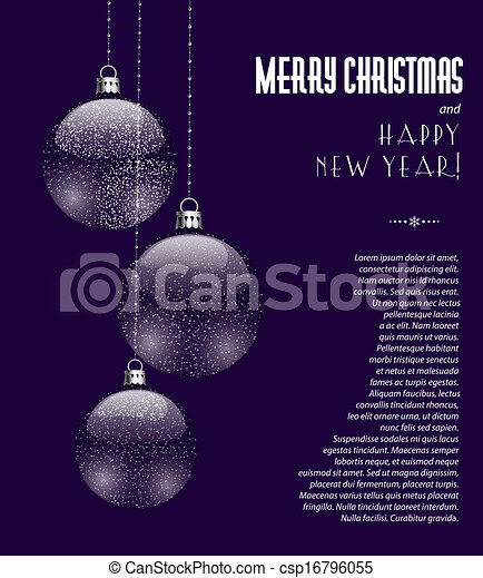 kerst baubles - csp16796055