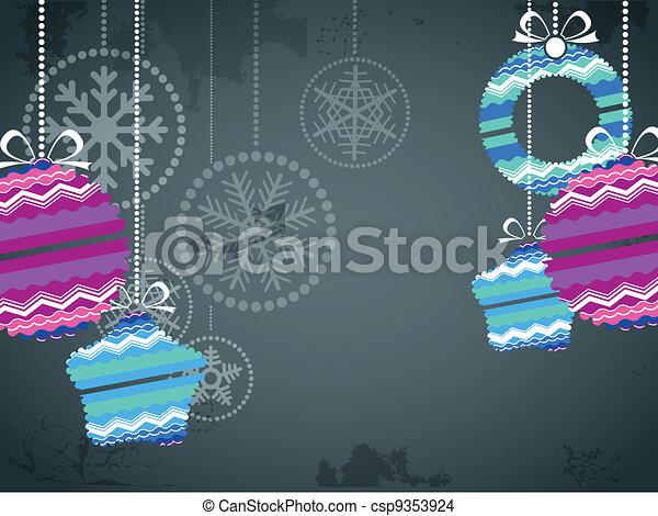 kerst baubles - csp9353924
