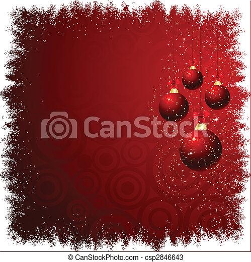 kerst baubles - csp2846643