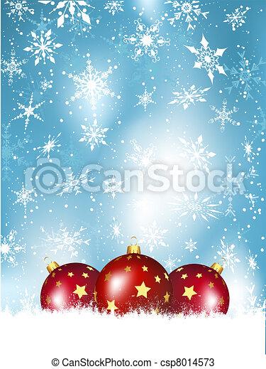 kerst baubles - csp8014573