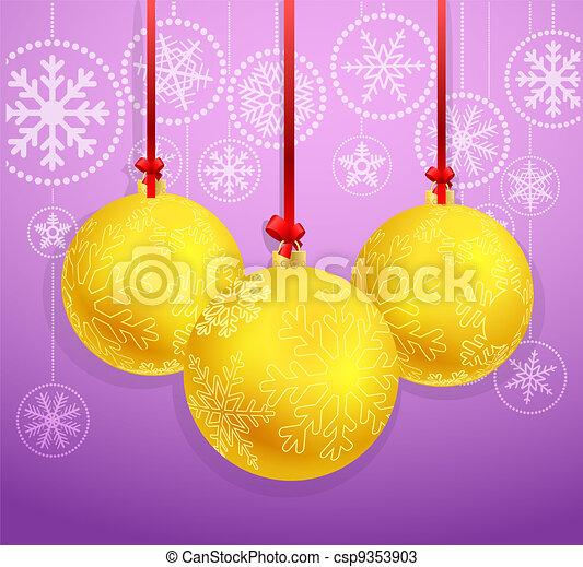 kerst baubles - csp9353903