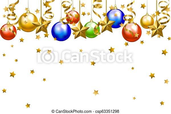 kerst baubles - csp63351298