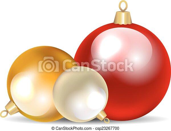 kerst baubles - csp23267700