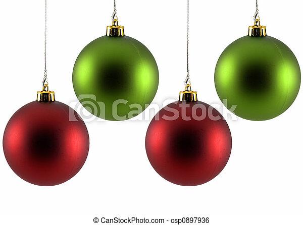 kerstballen - csp0897936