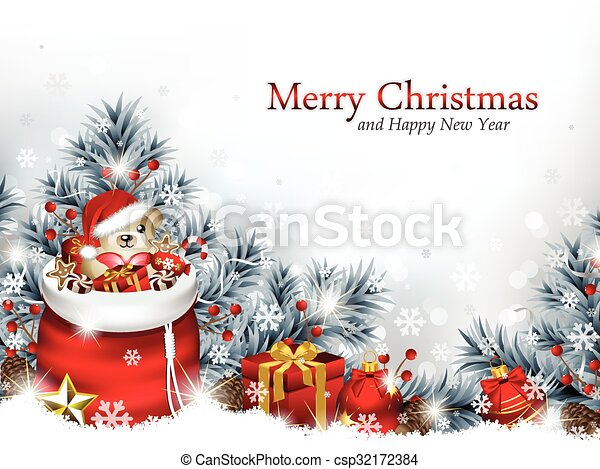 kerstmis, achtergrond - csp32172384