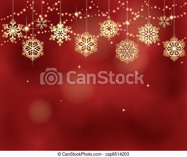 kerstmis, achtergrond - csp6514203