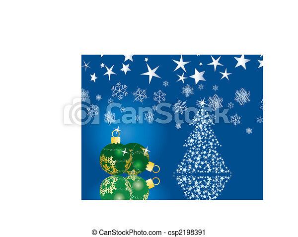 kerstmis, achtergrond - csp2198391
