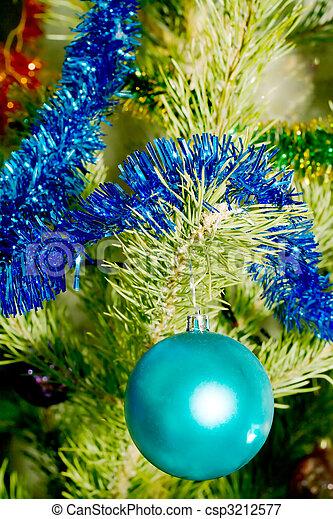 kerstmis-boom - csp3212577