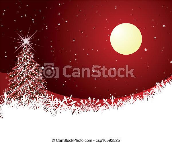 kerstmis kaart - csp10592525