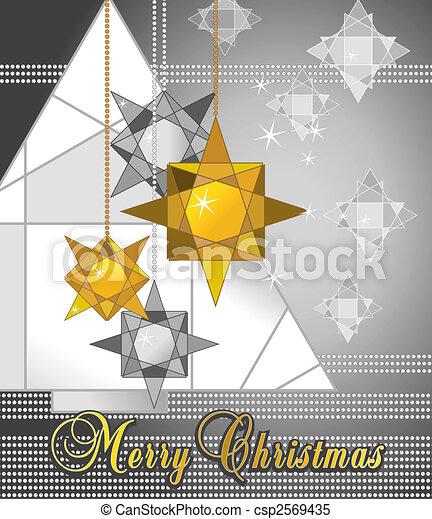 kerstmis kaart - csp2569435