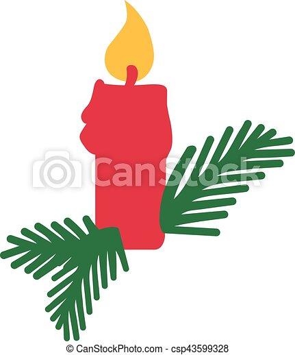 vektor illustration von kerze advent weihnachten csp43599328 suche nach clipart zeichnungen. Black Bedroom Furniture Sets. Home Design Ideas