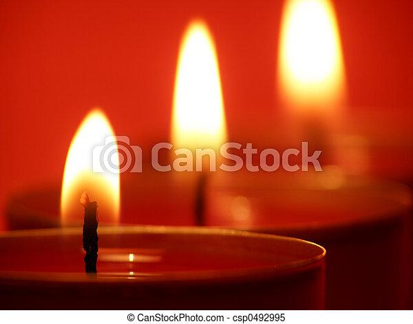 Kerzenlichter - csp0492995