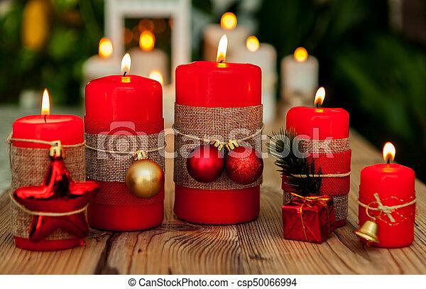 Kerzen Weihnachten.Kerzen Weihnachten Rotes Schöne Kerzen Red