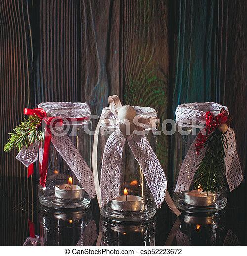 Kerzenhalter Weihnachten.Kerzenhalter Glas Weihnachten