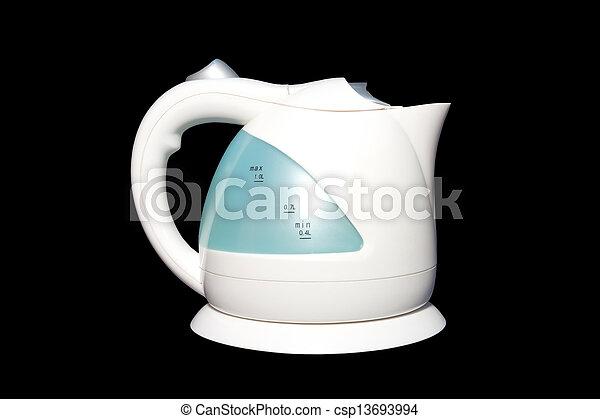 Water.it\'s, elektrischer kessel, gebrauch, plastik, kochen ...