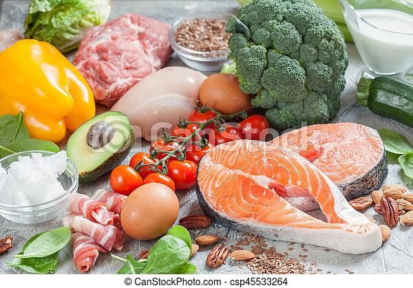 alimentos dietéticos bajos en grasa