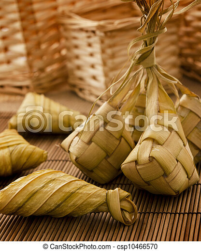 Ketupat or packed rice - csp10466570