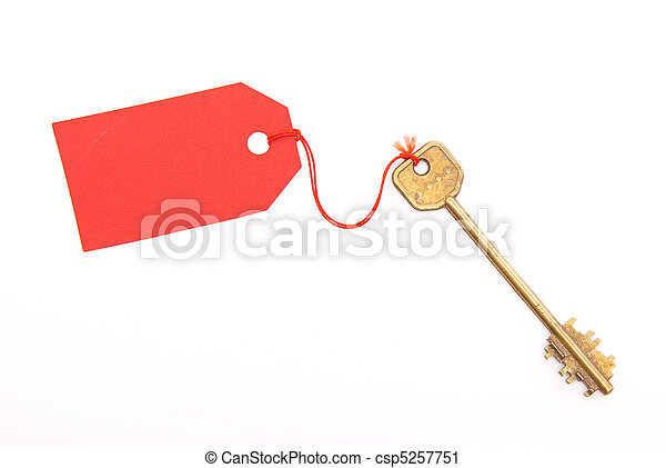 Key and label - csp5257751