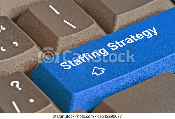 Key for staffing strategy - csp42290677