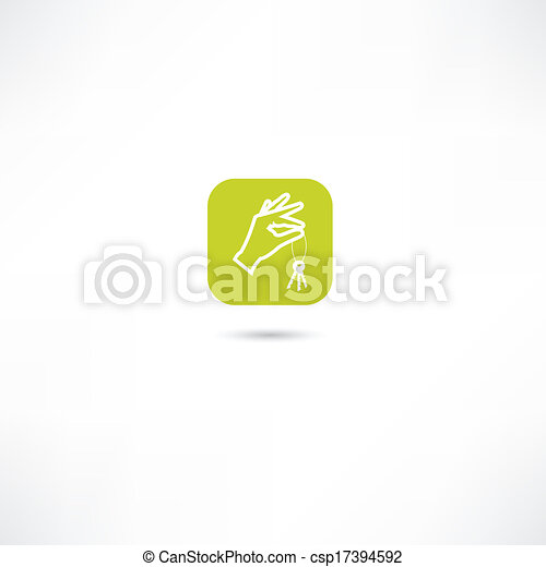 key for the home icons - csp17394592