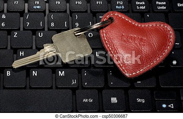Key Heart Symbol Keyboard Keyboard Laptop Key Heart Symbol Love