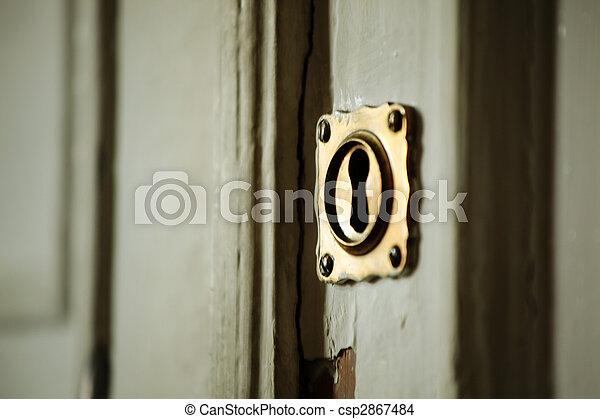 key hole - csp2867484