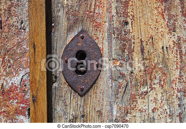 Key hole - csp7090470