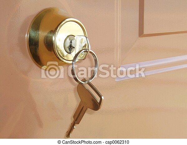 Key in a lock - csp0062310