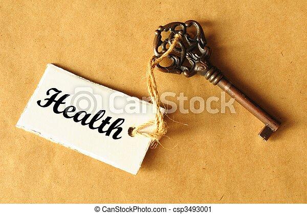 key to health - csp3493001