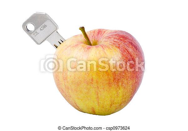 Key To Health - csp0973624