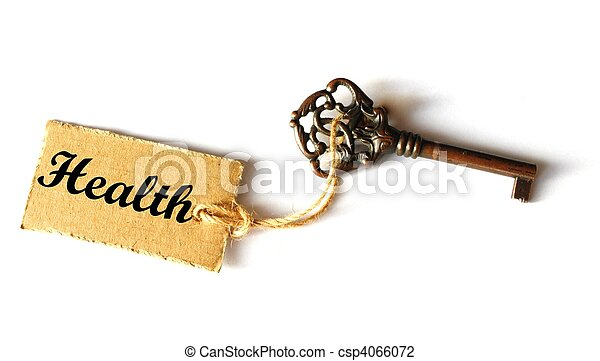 key to health - csp4066072