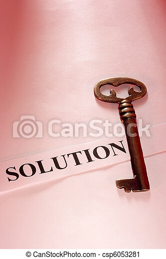 Key to Solution - csp6053281