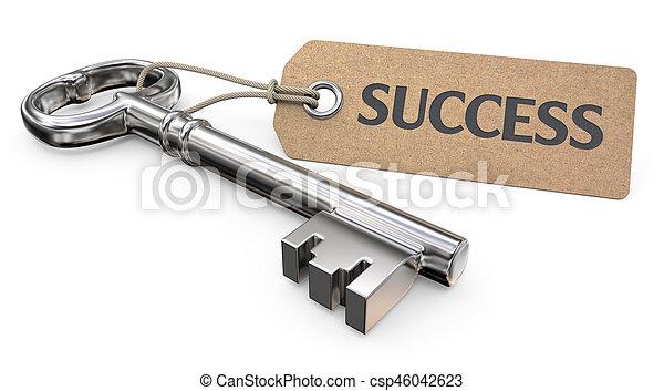 Key to Success. - csp46042623