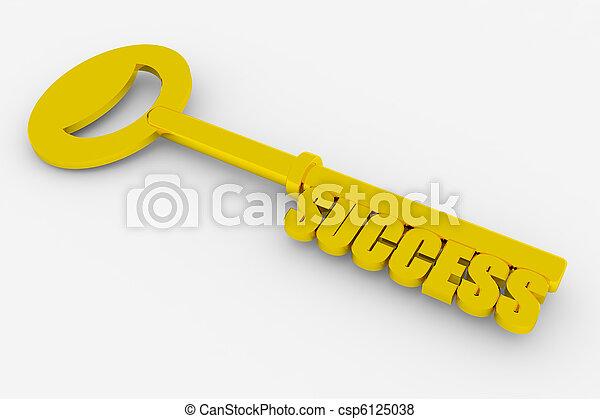 Key to success - csp6125038