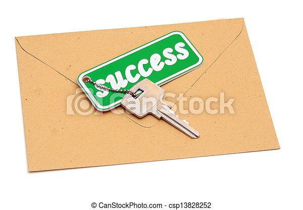 Key to success - csp13828252