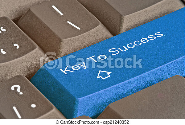 Key to success - csp21240352