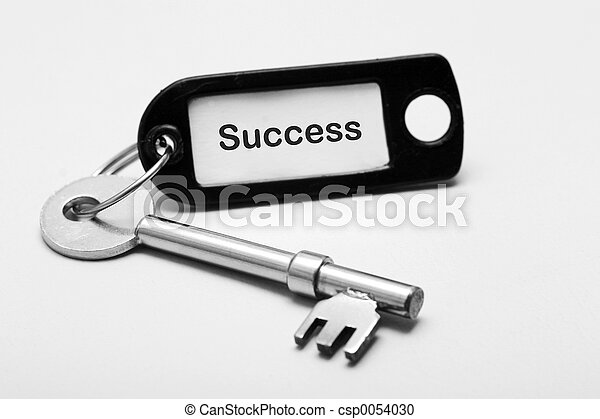 Key to Success - csp0054030